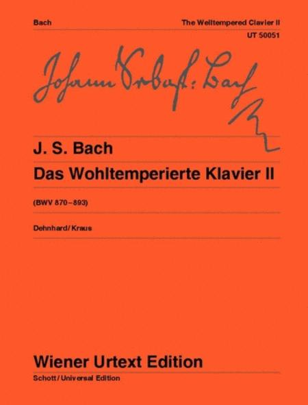 The Well-Tempered Clavier, Vol. 2