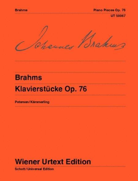 Piano Pieces Op. 76