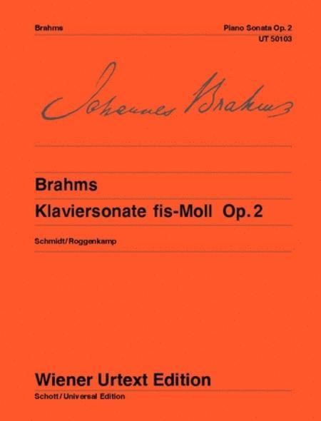 Piano Sonata F sharp minor Op. 2