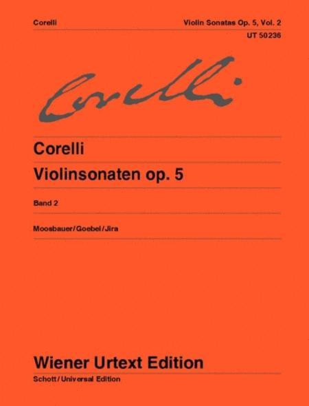 Violin Sonatas, Op. 5 - Volume 2