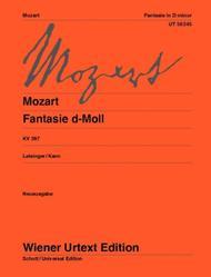 Fantasy In D Minor K 397 Sheet Music By Wolfgang Amadeus