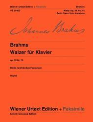 Waltz, op. 39, no. 15