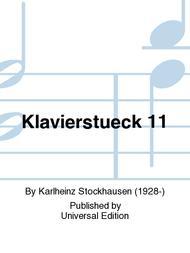 Klavierstueck 11