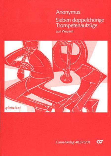 Sieben Trompetenaufzuge