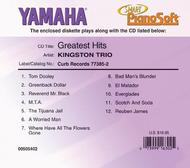 Kingston Trio - Greatest Hits - Piano Software