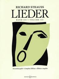 Lieder - Volume 3