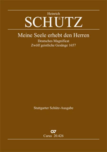 Magnificat (Meine Seele erhebt den Herrn); Ehre sei dem Vater