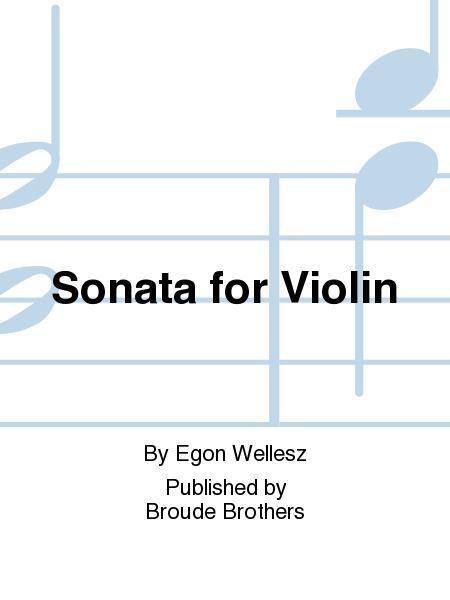 Sonata for Violin Solo, Op. 72