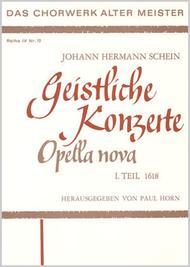 Opella Nova I. Teil 1618