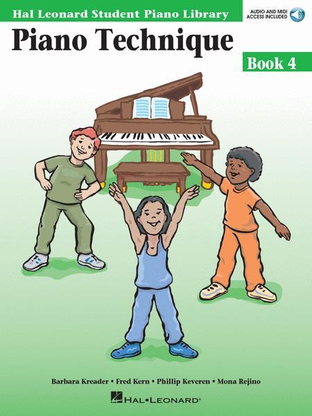 Piano Technique Book 4 Book with Audio and MIDI Access