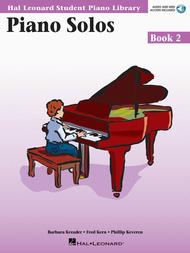 Piano Solos Book 2 - Book with Online Audio