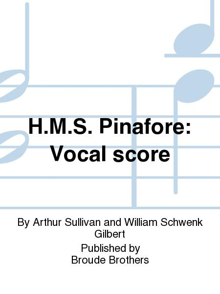 H.M.S. Pinafore: Vocal score