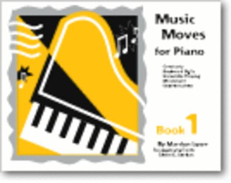 Music Moves for Piano, Book 1 - Student edition with CD