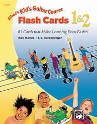 Alfred's Kid's Guitar Course 1 & 2: Flash Cards