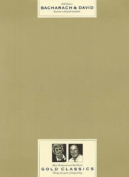 Burt Bacharach and Hal David - Gold Classics