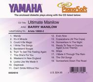 Barry Manilow - Ultimate Manilow - Piano Software