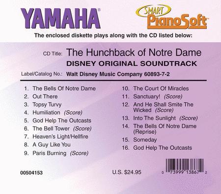 The Hunchback of Notre Dame (Disney Original Soundtrack) - Piano Software