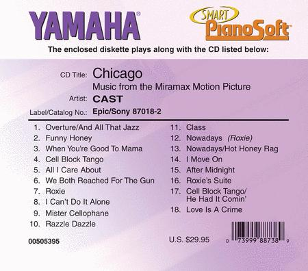 Chicago - Music from the Motion Picture - Piano Software