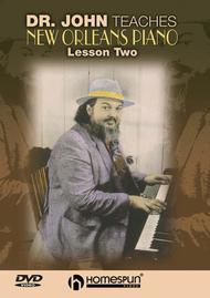 Dr. John Teaches New Orleans Piano