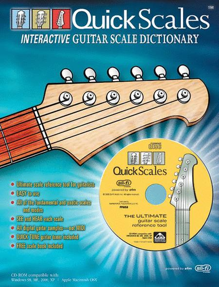 Quick Scales Interactive Guitar Scale Dictionary