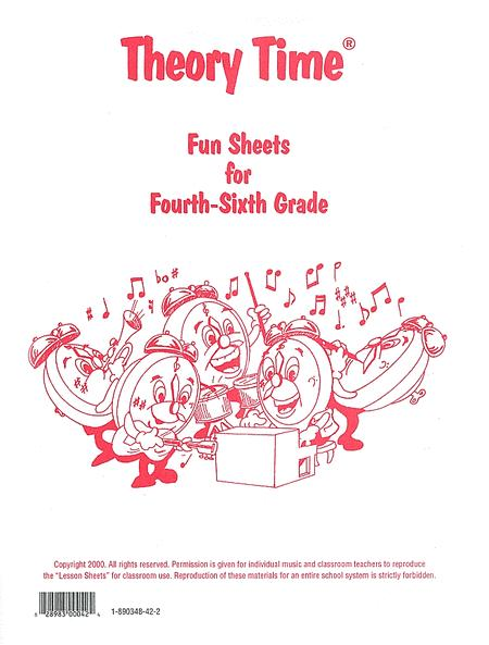 Fun Sheets for Fourth - Sixth Grade