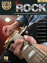 Classic Rock Guitar Play-Along - Volume 34