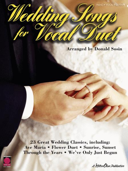 Wedding Songs For Vocal Duet By Various Sheet Music For