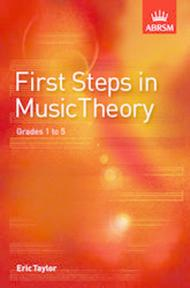 Instruction Books, Cds & Video First Steps In Music Theory Eric Taylor Supports Abrsm Theory Grades 1-5 #t