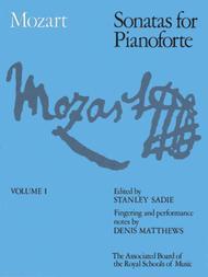 Sonatas for Pianoforte, Volume I