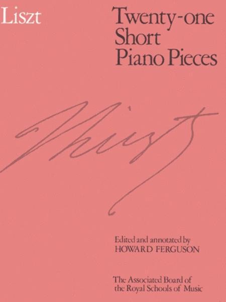 Twenty-one Short Piano Pieces