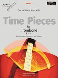 Time Pieces for Trombone, Volume 1