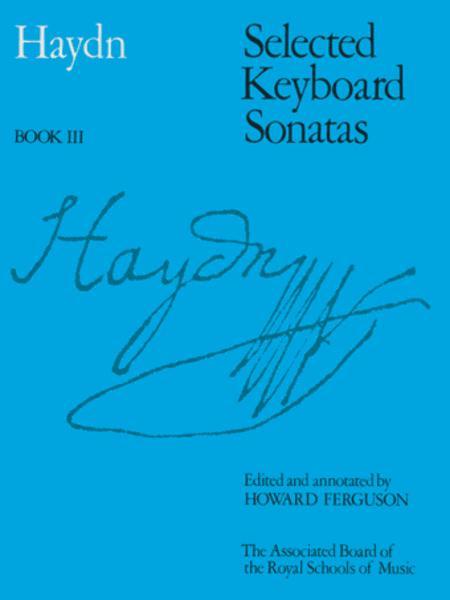 Selected Keyboard Sonatas, Book III
