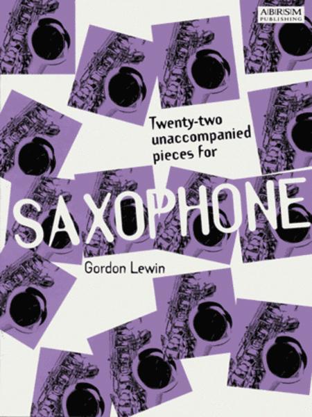Twenty-two Unaccompanied Pieces for Saxophone
