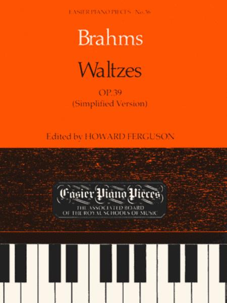 Waltzes,  Op. 39 (Simplified Version)