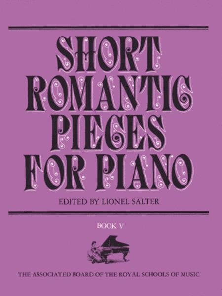 Short Romantic Pieces for Piano, Book 5