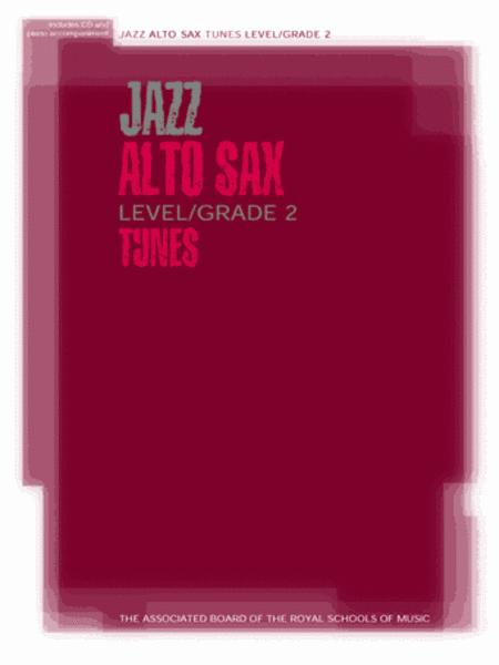 Jazz Alto Sax Level/Grade 2 Tunes/Part & Score & CD