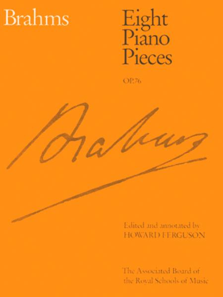 Eight Piano Pieces, Op. 76