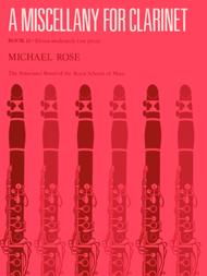 A Miscellany for Clarinet, Book II
