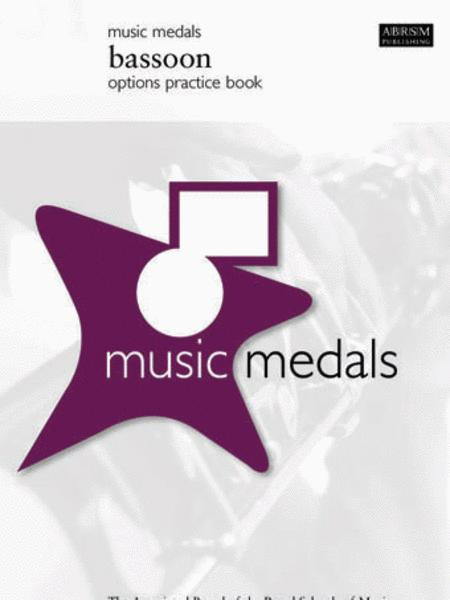 Music Medals Bassoon Options Practice Book