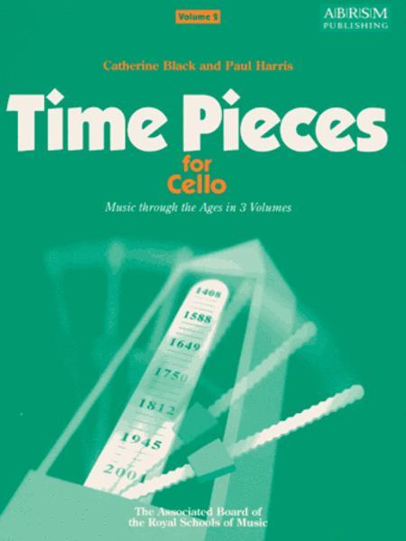 Time Pieces for Cello, Volume 2