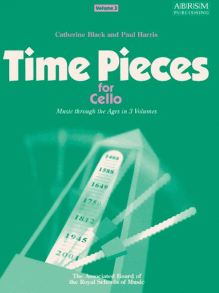 Time Pieces for Cello, Volume 3