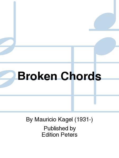 Broken Chords Sheet Music By Mauricio Kagel Sheet Music Plus