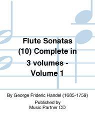 Flute Sonatas (10) Complete in 3 volumes - Volume 1