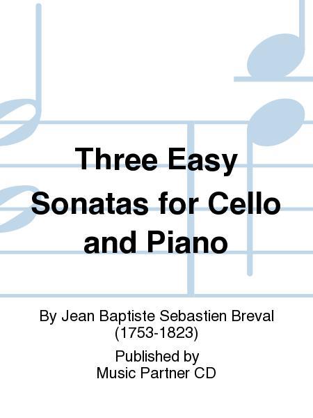 Three Easy Sonatas for Cello and Piano