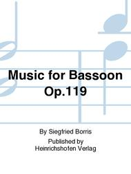 Music for Bassoon Op. 119