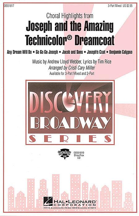 Joseph and the Amazing Technicolor Dreamcoat (Choral Highlights) - ShowTrax CD