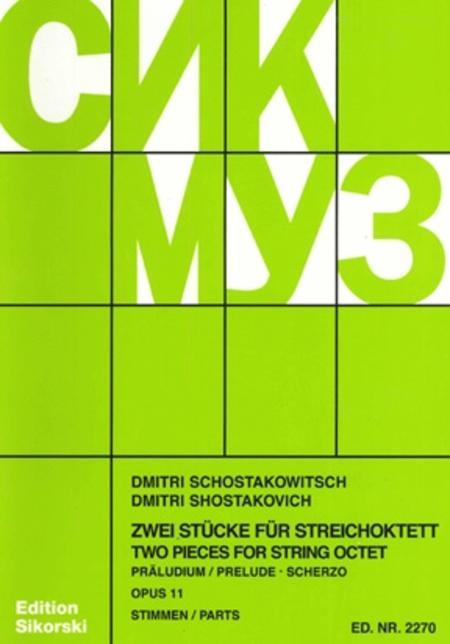 Prelude & Scherzo Op11 String Octet