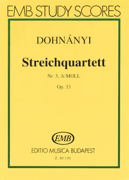 String Quartet No. 3 in A Minor, Op. 33