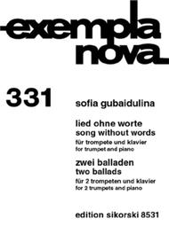 Song Without Words & Two Ballads