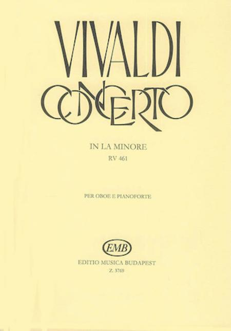 Concerto in la minore per oboe, archi e cZalo RV